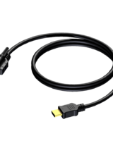 КАБЕЛ HDMI A 1.4 SINGLE LOCKING - 30AWG - 2M