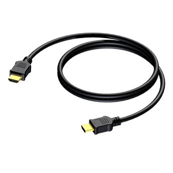 КАБЕЛ HDMI A male to HDMI A male 6MM 1.4 - 30 AWG - 2M