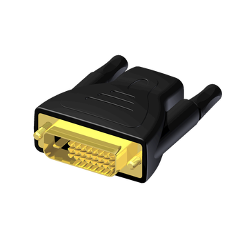 АДАПТЕР HDMI 19 FEMALE TO DVI 25 MALE